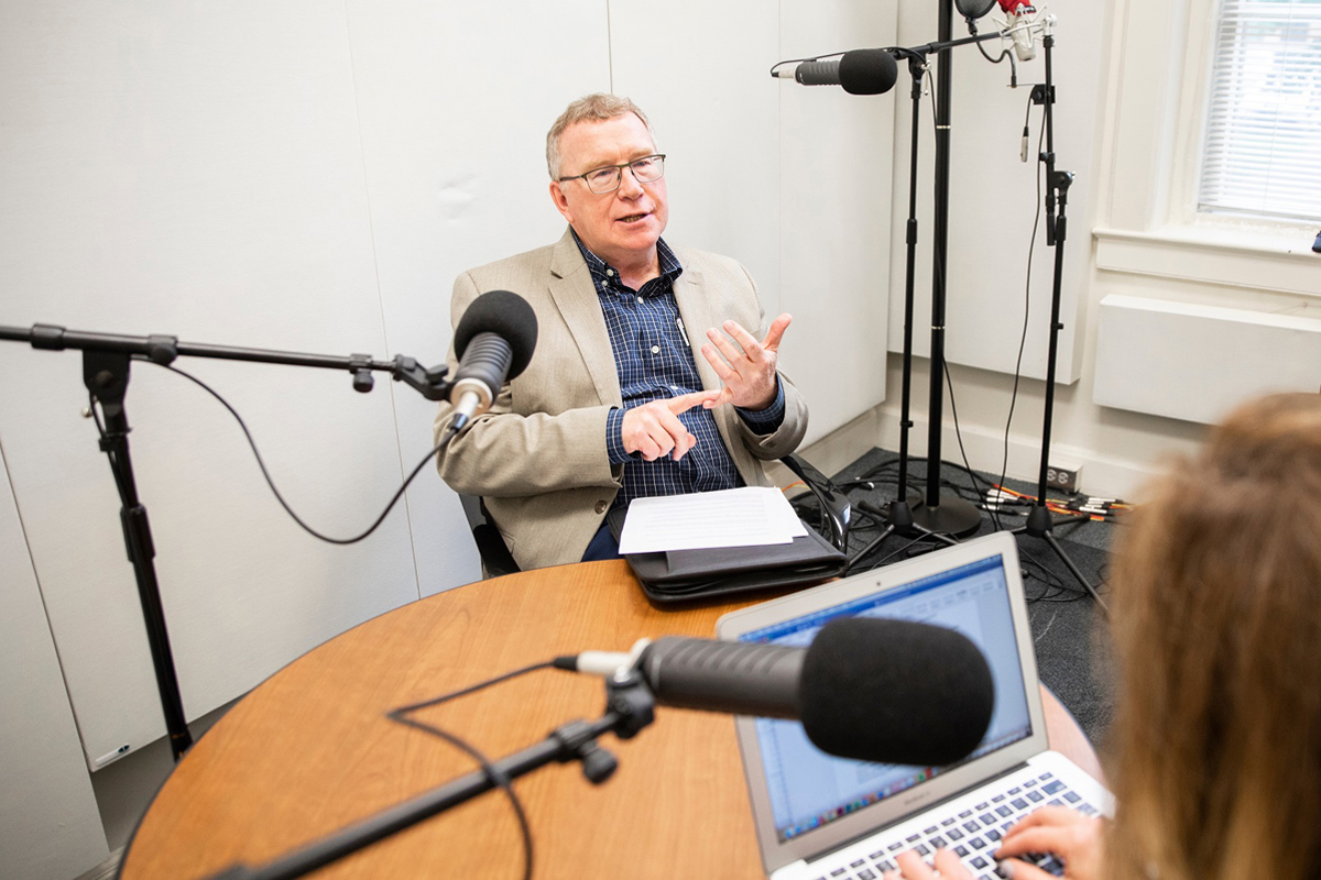 Opus faculty Michael Garrison shares his insights on entrepreneurship with Twin Cities Business podcast host Allison Kaplan