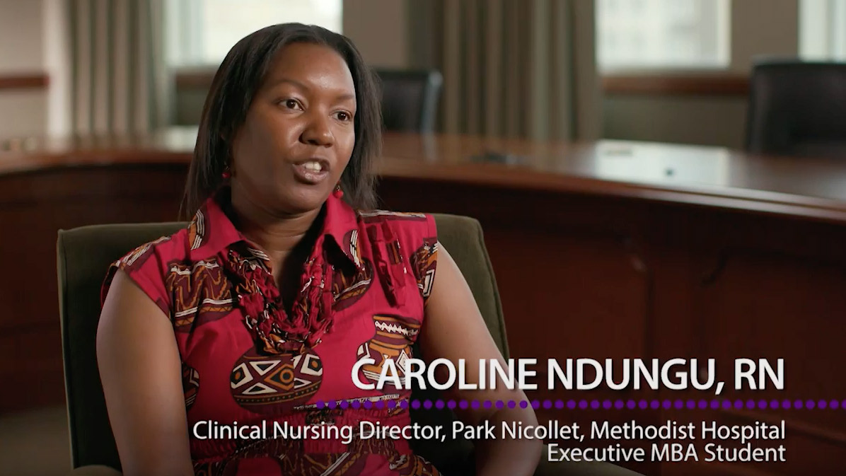 Caroline Ndungu, an executive MBA alum, talks about the program's impact on her career and life.