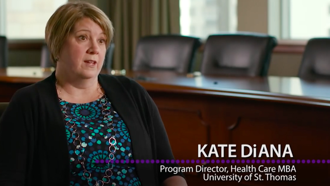Kate DiAna, the MBA Health Care program director, talks about the tools needed to succeed.