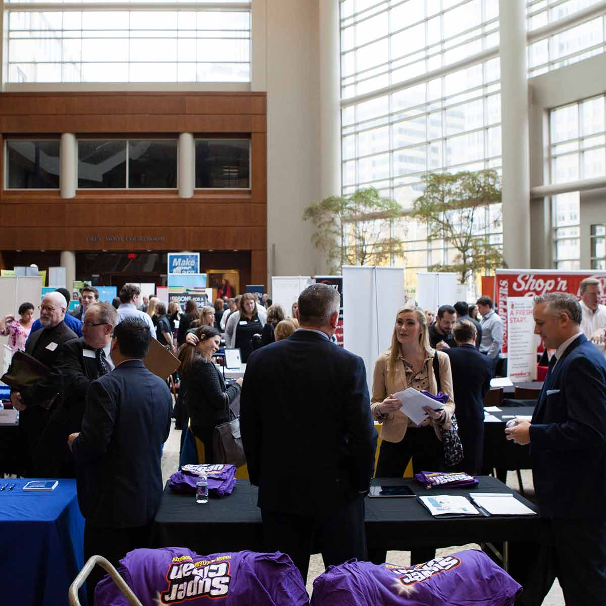 Graduate Business Career Services held the annual Fall Career Fair on Wednesday, November 18, 2015.