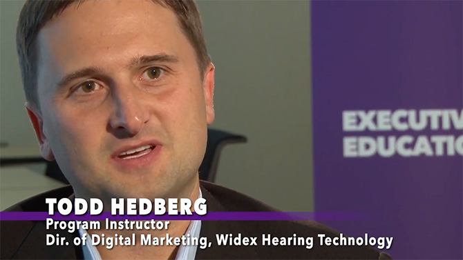 Todd Hedberg, program instructor with the University of St. Thomas' Opus College of Business, is also the director of digital marketing at Widex Hearing Technology. He talks about how the program helps students build their toolkits and prepare effective social media campaigns.